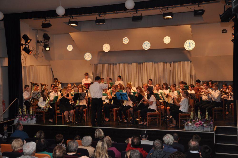 Dechový orchestr mladých ZUŠ Zábřeh