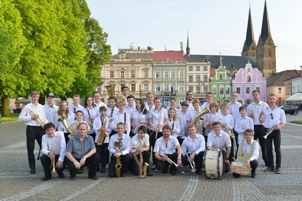 Dechový orchestr ZUŠ Bystřice nad Pernštejnem